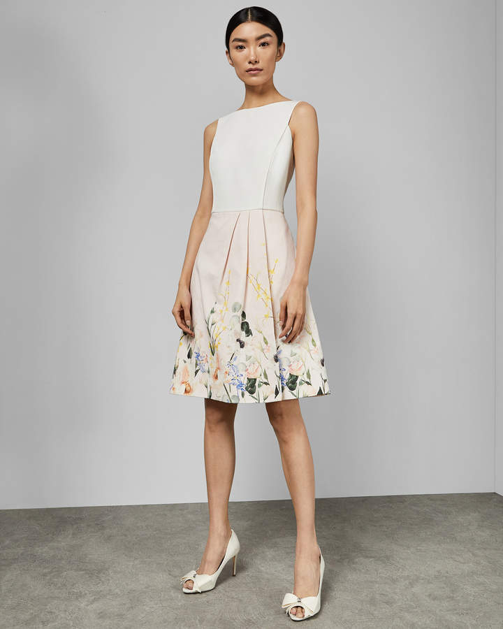 Ted Baker KALLA Elegant full skirt dress
