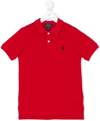 Ralph Lauren Kids Embroidered Polo Shirt