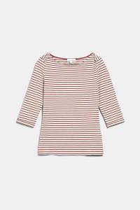 Armedangels Dalenaa Organic Cotton Striped Long Sleeve Top - XS