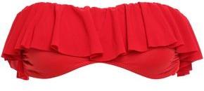 Norma Kamali Ruffled Bandeau Bikini Top