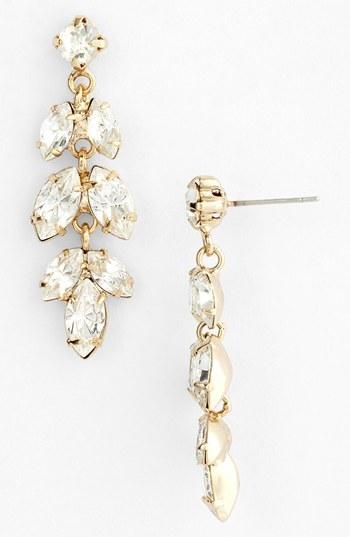 Nina 'Brylee' Crystal Drop Earrings