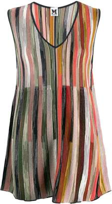 M Missoni knitted striped tunic