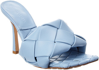 Bottega Veneta Lido Intrecciato Leather Mule