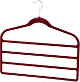 Sunbeam 3-Pack Non-Slip Velvet Trouser Hangers