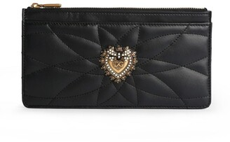 Dolce & Gabbana Devotion Leather Card Holder