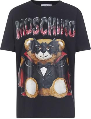 Moschino Teddy Logo Printed T-Shirt