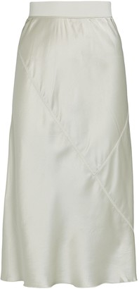 ATM Anthony Thomas Melillo Silk Charmeuse Midi Skirt