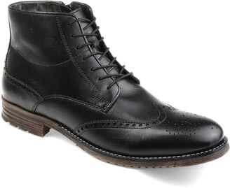 Thomas & Vine Ryker Tall Wing Tip Lace Up Boot