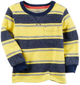 Carter's French Terry Striped Pullover