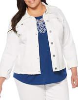 Rafaella Plus Plus Denim Jacket