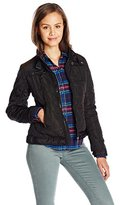 U.S. Polo Assn. Junior's Quilted Moto Jacket