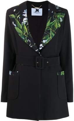 Blumarine belted jacket
