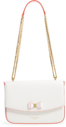 Ted Baker Danieel Bow Leather Crossbody Bag