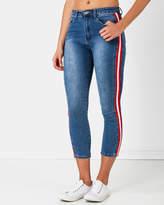 Scarlett Striped Jeans