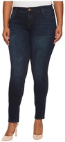 KUT from the Kloth Plus Size Diana Skinny in Breezy/Dark Stone Base Wash Women's Jeans