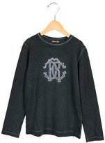 Roberto Cavalli Boys' Embroidered Crew Neck Shirt