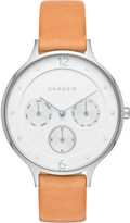 Skagen Anita leather watch