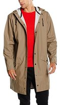 Rains Men's Waterproof Long Jacket,X-Large (Manufacturer Size: L/X-Large)