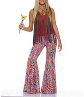 Asstd National Brand Women's Wild Swirl Bell Bottom Pants Costume - One Size Fits Most, One Size , Multiple Colors