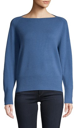 Vince Wool Cashmere Boat-Neck Sweater