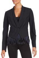 Brunello Cucinelli Solid Wool-Blend Jacket