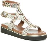 Donald J Pliner Women's LIDO - Python Leather Sandal