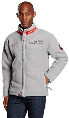 Geographical Norway Urus Fleece Jacket - Grey - Small