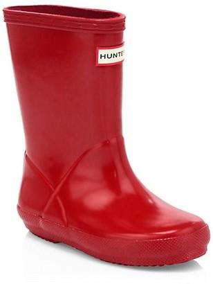 Hunter Toddler's First Gloss Rainboots