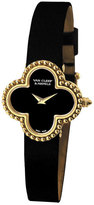 Van Cleef & Arpels Vintage Alhambra Yellow Gold Watch, Small