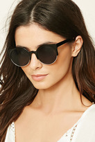 Forever 21 FOREVER 21+ Tinted Cat Eye Sunglasses
