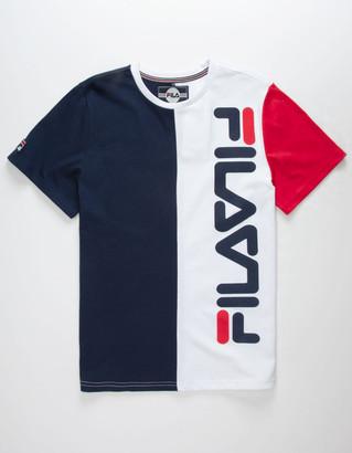 Fila Color Block Logo Boys T-Shirt