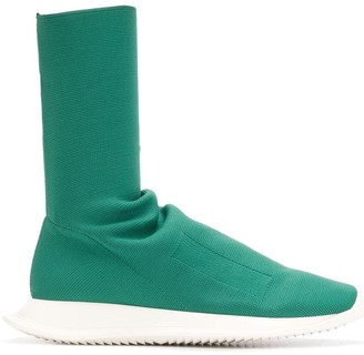 Rick Owens Mid-Calf Sock Trainers