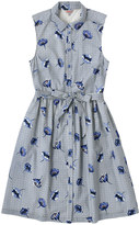 Cath Kidston Winfield Check Sleeveless Shirt Dress