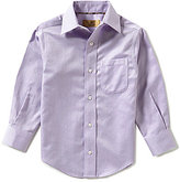 Class Club Gold Label Little Boys 2T-7 Herringbone Shirt
