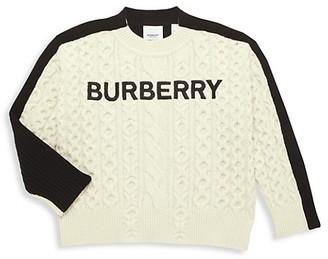 Burberry Little Kid's & Kid's Stef Wool Sweater