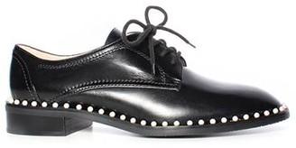 Stuart Weitzman Kiran Leather Pearl Oxford
