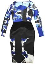 Antonio Berardi Blue Wool Dress for Women