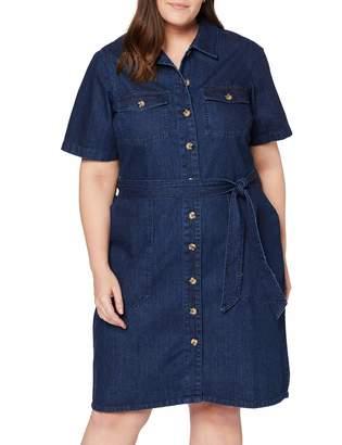 Dorothy Perkins Curve Women's Western Shirt Dress