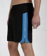 MPG Black & Blue Energy Physique Shorts - Men's Regular