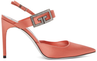 Givenchy Pink Double G Pumps
