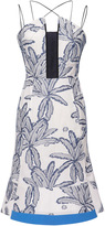 Roland Mouret Cotton Palm Clere Dress