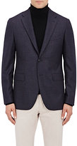 Boglioli Men's Wool Alton Sportcoat-NAVY