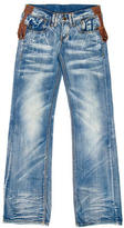 DSQUARED2 Distressed Wide-Leg Jeans w/ Tags