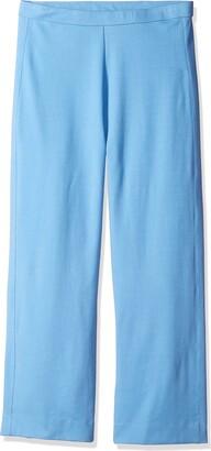 Joan Vass Women's Plus-Size Border Stripe Cotton Poncho