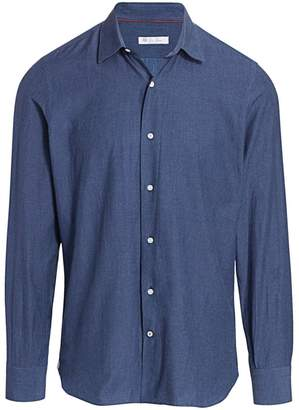 Loro Piana Arthur Chambray Sport Shirt