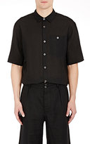 Margaret Howell MEN'S SHORT-SLEEVE SHIRT-BLACK SIZE L
