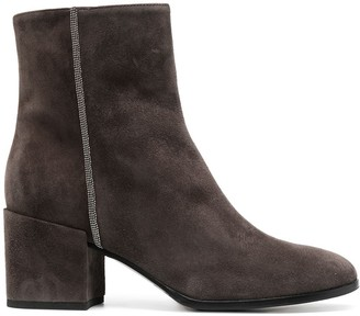 Fabiana Filippi Suede Ankle Boots