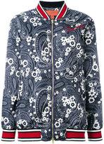 Hilfiger Collection - floral print bomber jacket - women - Polyamide/Polyester/Viscose - 36