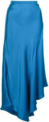 Anine Bing Asymmetric Midi Skirt