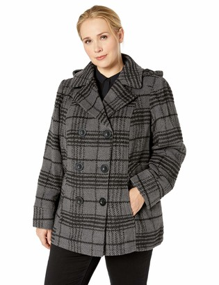Details Women's Plus Size Hooded Jacket